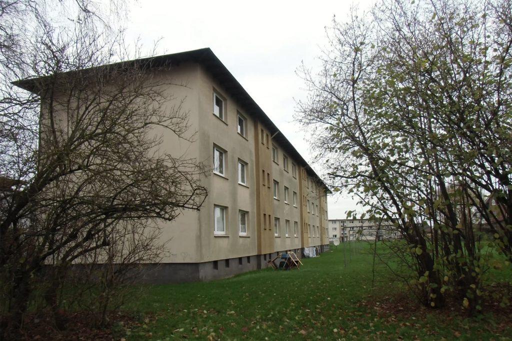 Gebäude mit Flachdach